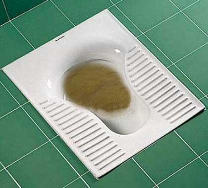 لوله بازکنی گرفتگی توالت ایرانی
