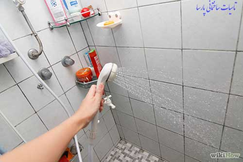 از بین بردن بوی گند و بوی بد توالت دستشویی حمام با شستشو