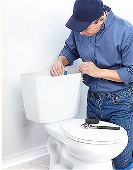 سرویس و تعمیر سیفون فرنگی هنگام نشت آب
